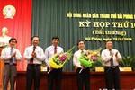Ông Lê Thanh Sơn được bầu là Phó Chủ tịch thành phố Hải Phòng