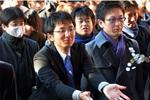 Doanh nhân Nhật hối hả đi lễ đầu năm