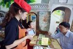 Quán phở miễn phí nhiều đồ, dùng iPad làm menu ở Hà Nội