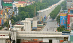 Đường sắt trên cao Cát Linh - Hà Đông được thi công cả trong ngày nghỉ lễ