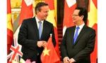 Thủ tướng Anh ấn tượng vì GDP Việt Nam tăng 350% sau 20 năm