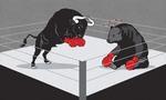 """""""Bùng nổ"""" cổ phiếu ngân hàng, VnIndex vượt ngưỡng 570 điểm"""