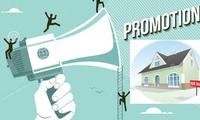 """Địa ốc tháng 9: Người mua nhà """"hoa mắt"""" vì khuyến mãi"""