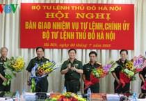 Bộ Tư lệnh Thủ đô Hà Nội có Tư lệnh và Chính ủy mới
