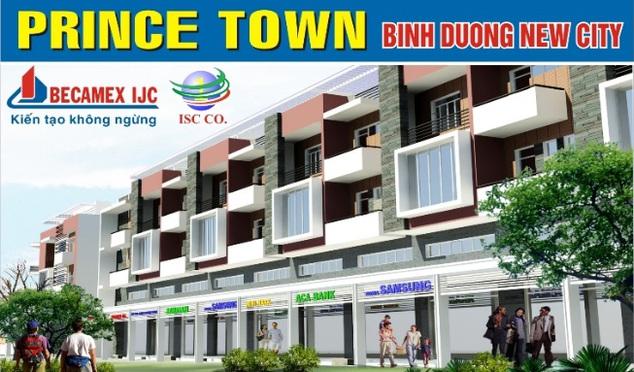 Prince Town Phố thương mại đối diện Đại Học Quốc Tế Miền Đông