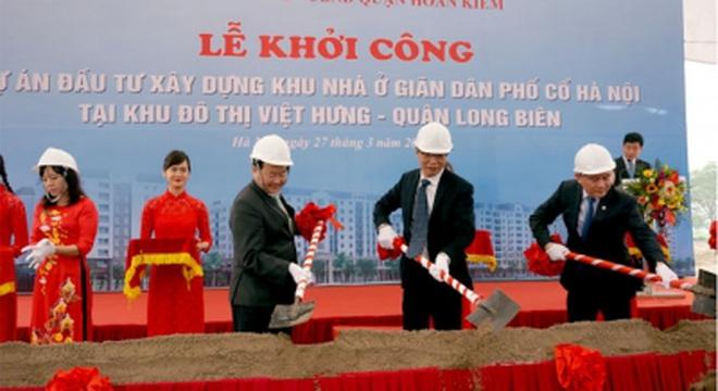 Khởi động dự án giãn dân phố cổ Hà Nội