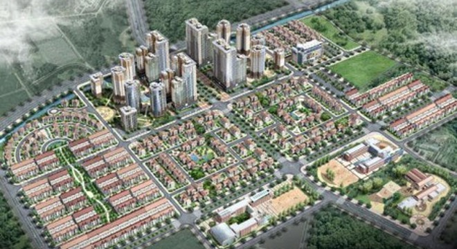 Công bố Dự án khu đô thị 50ha tại Hoài Đức