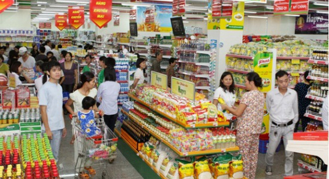 Siêu thị ngoại - Thách thức cho hàng hóa nội địa