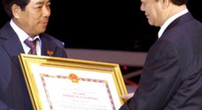 Ông Trương Văn Tuyến trở thành tân Tổng giám đốc của Vinashin