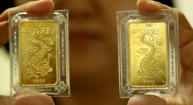 Vàng hết lấp lánh