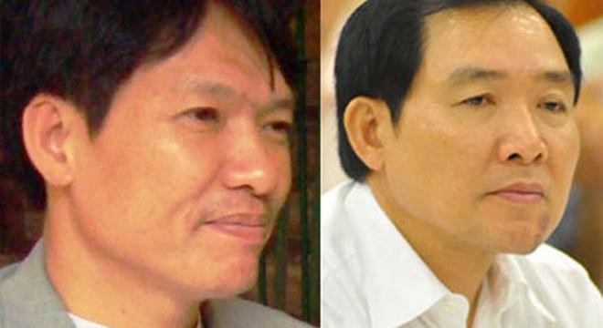 Hai anh em Dương Chí Dũng (bên phải) và Dương Tự Trọng.