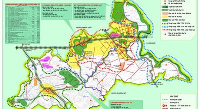 Huyện Quốc Oai sẽ là vành đai xanh của Thủ đô