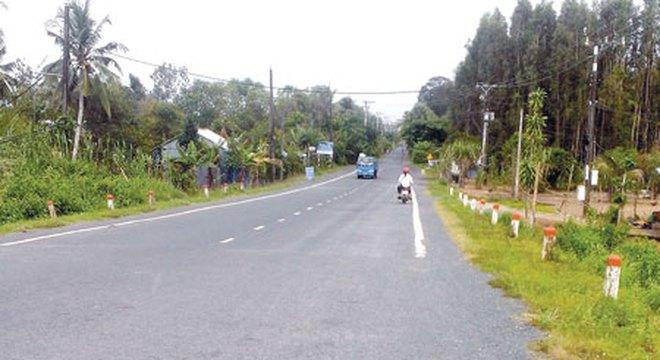 Đường Hồ Chí Minh đoạn Rạch Sỏi - Bến Nhất - Gò Quao - Vĩnh Thuận sẽ được xây dựng tạo sự liên thông trên tuyến hành lang phía Tây