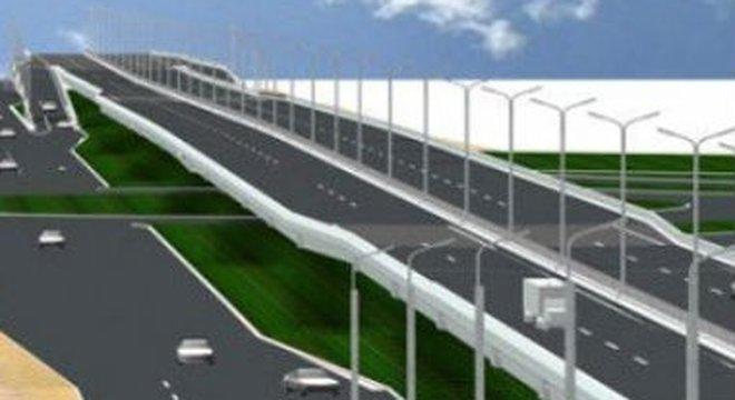 Phương án hướng tuyến đường trên cao Mai Dịch – Nam Thăng Long