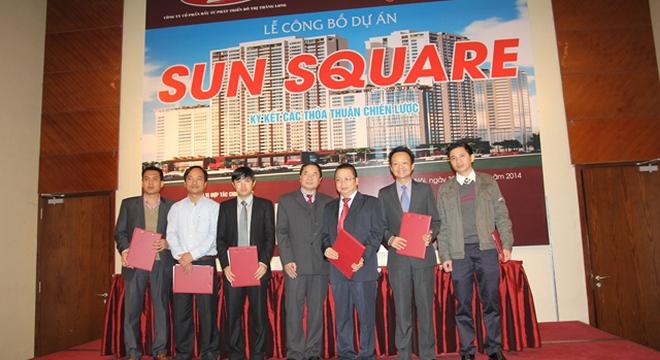 Công bố hợp tác chiến lược Dự án Sun Square