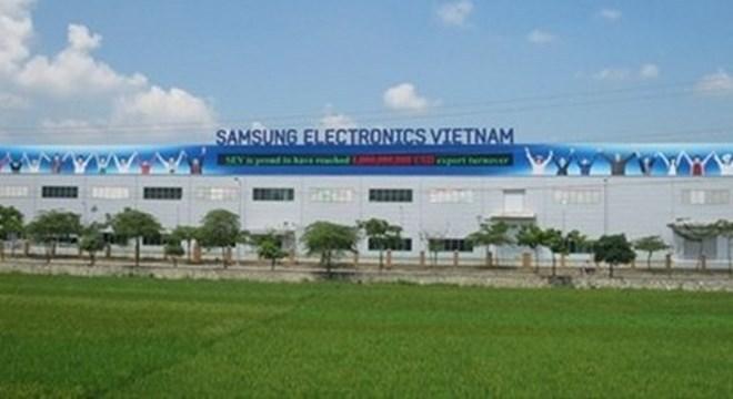 Một nhà máy Samsung tại Việt Nam.