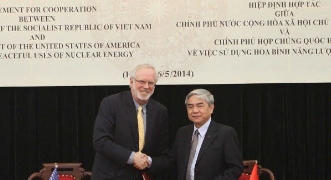Lễ ký Hiệp định hợp tác giữa Việt Nam và Hoa Kỳ về