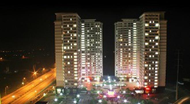 Một khu đô thị mới sống động