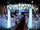 Không gian tiệc cưới lộng lẫy của ca sĩ Đan Trường và doanh nhân Thủy Tiên ở Sài Gòn