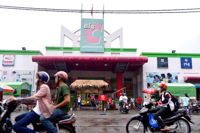 Siêu thị Big C trên đường Hoàng Văn Thụ, Q.Phú Nhuận, TP.HCM - Ảnh: QUANG ĐỊNH