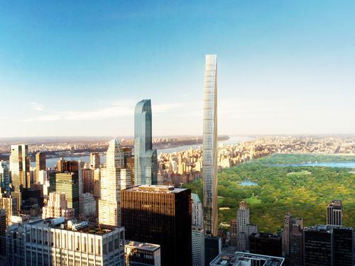 Dự án tại số 57 đường 111 West đang được phát triển bởi SHoP Architects