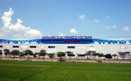 Cú huých Samsung, Thái Nguyên lọt top 3 cả nước về xuất khẩu
