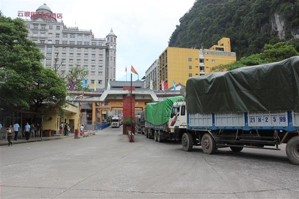Mỗi ngày XK 4.000 tấn vải quả tươi qua cửa khẩu Tân Thanh