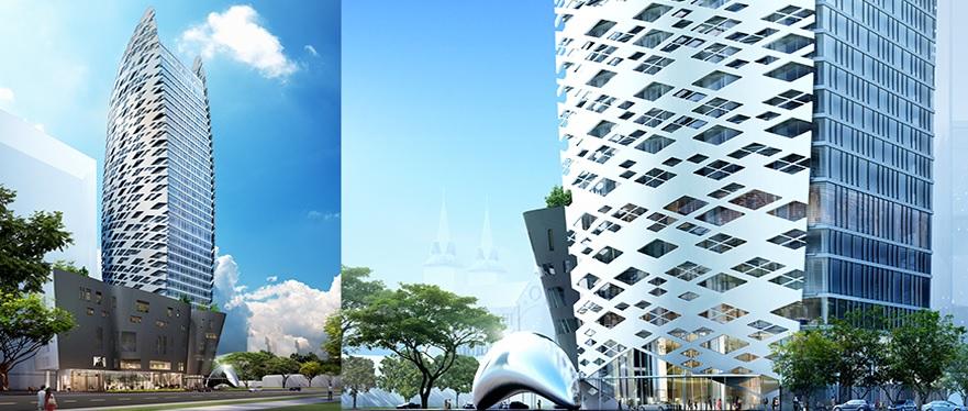 Phối cảnh dự án, nguồn: CTCP Đầu tư Lavenue