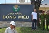 Họp bàn về nợ thuế của Cty vàng Bồng Miêu