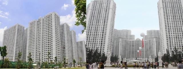 """Nhiều dự án vẫn tăng tốc """"lội ngược dòng"""" trước sự khó khăn của bất động sản"""