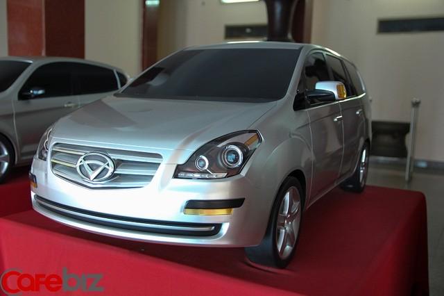 Mẫu xe du lịch VG-150 nội địa hóa 50% của Vinaxuki suốt 3 năm qua vẫn chỉ là mô hình