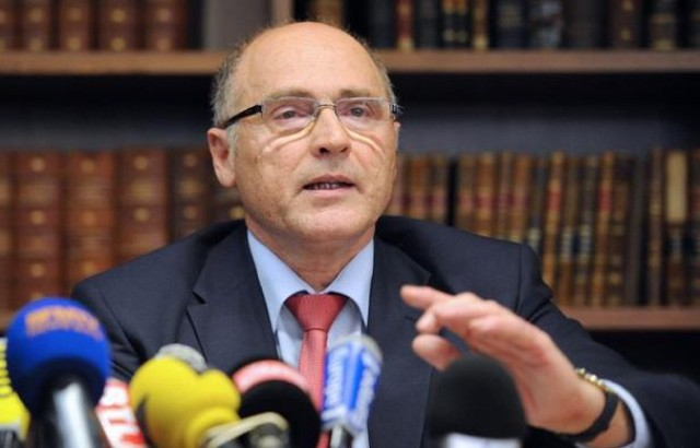 Công tố viên Marseille Brice Robin