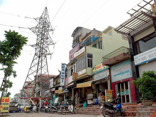Nhà gần tháp điện cao thế bị ảnh hưởng xấu bởi lượng bức xạ