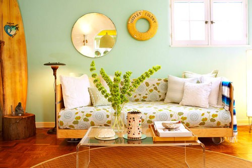 Colorful Summer Living Room