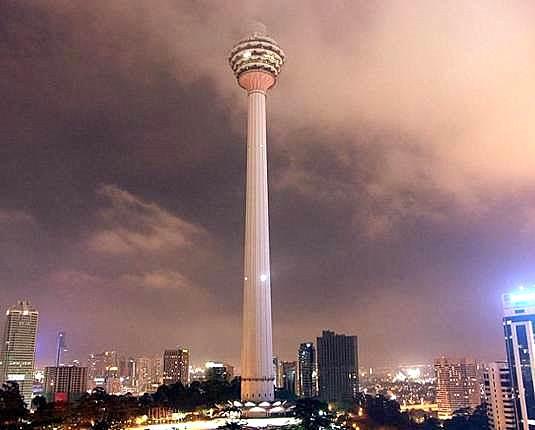 The Kuala Lumpur Tower - Malaysia