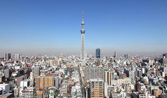 Tokyo Skytree Tower (634m):