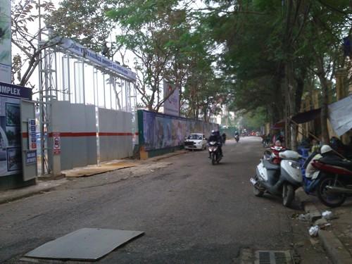 Đường Phùng Chí Kiên nơi dự án tọa lạc