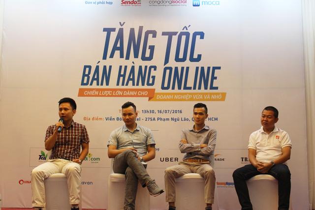 Kinh doanh lướt sóng đang làm hư nền TMĐT Việt Nam. Ảnh: H.Nam.