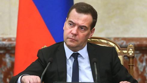 Thủ tướng Nga Dmitry Medvedev. (ảnh: RiaNovosti).