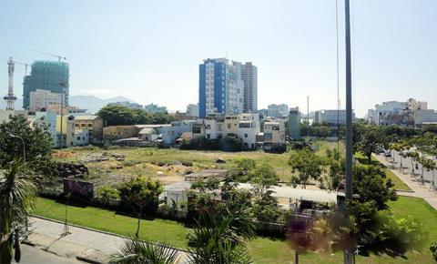 Dự án tháp đôi cao nhất Miền Trung vẫn là khu đất hoang sau nhiều năm khởi công