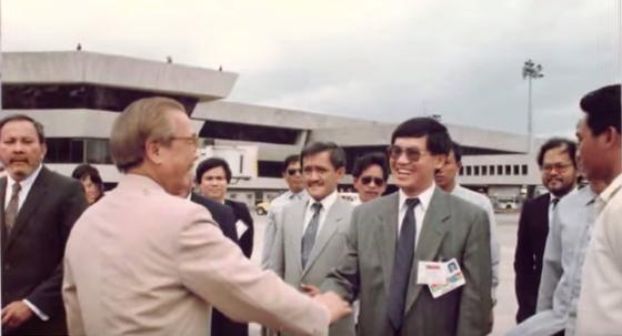Ông Hạnh Nguyễn những năm 1980. Ảnh: FBNC
