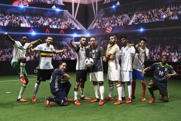 Đội hình của Adidas tại Euro 2016.