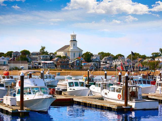 Bán đảo Cape Cod là điểm đến yêu thích của gia đình ông Kennedy.