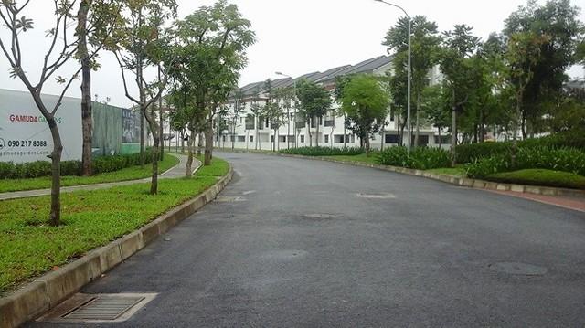 Khu đô thị Gamuda Garden đã được đưa vào sử dụng