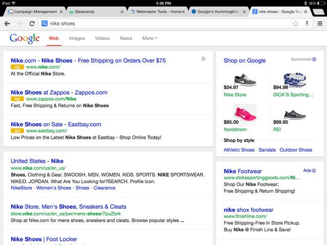 Những mẩu quảng cáo tương tự như Google trên Baidu và Alibaba sẽ bị đóng thuế.