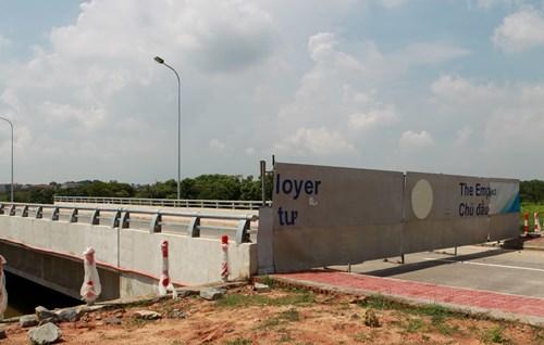 Tuyến đường có tổng chiều dài gần 15km, qua địa phận Vĩnh Phúc 3km, qua địa phận thành phố Hà Nội gần 12km. Tuyến đường này được thiết kế theo tiêu chuẩn đường đô thị với vận tốc 80km/h với tổng mức đầu tư dự án giai đoạn I hơn 2.330 tỷ đồng.