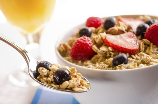 Ngũ cốc là món ăn lành mạnh giúp cơ thể thư giãn.