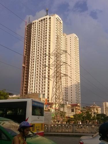Hiện chủ đầu tư đang bán các căn hộ tại đây với giá từ 23-25 triệu đồng/m2