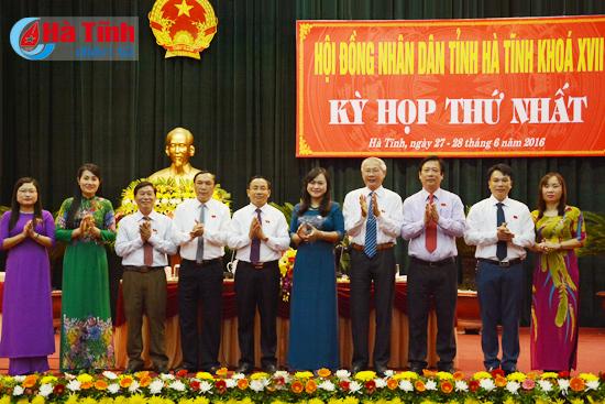 Thường trực, các Ban và Văn phòng HĐND tỉnh Hà Tĩnh khóa XVII nhận nhiệm vụ