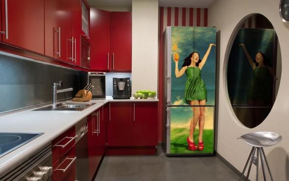 Những tấm nam châm với các hình ảnh mang phong cách khác nhau cũng là lựa chọn lý tưởng cho tủ lạnh nhà bạn.